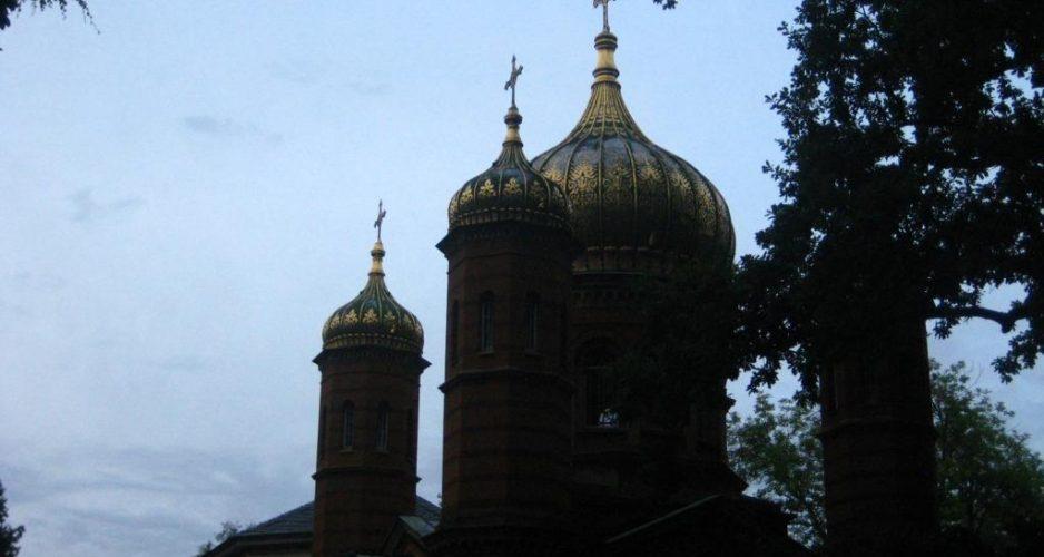 Kapelle auf Weimarer Friedhof